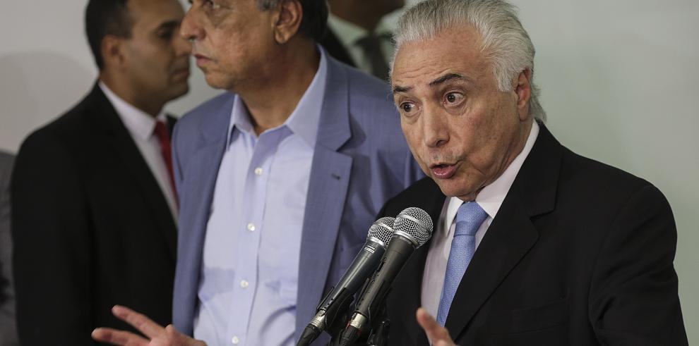 Temer espera la luz verde del Congreso para avanzar con intervención de Río