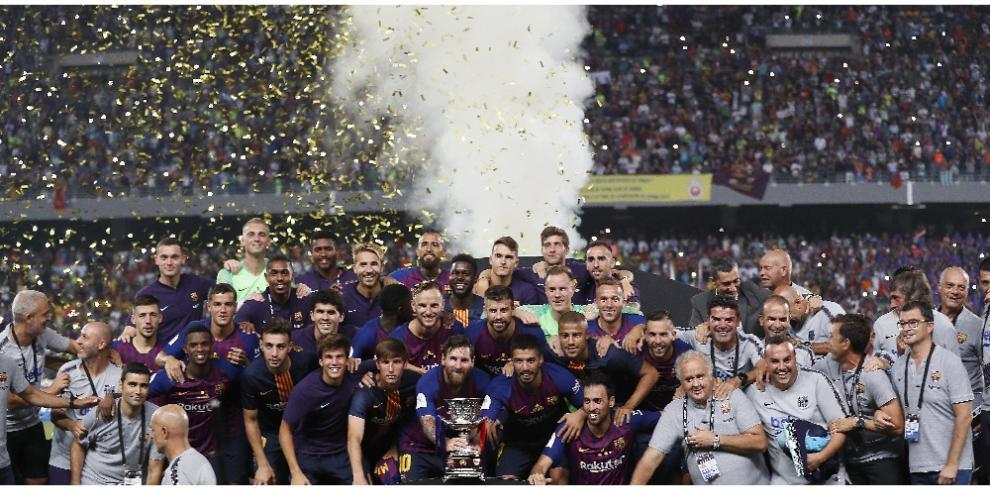 El Barcelona se proclama campeón de la Supercopa