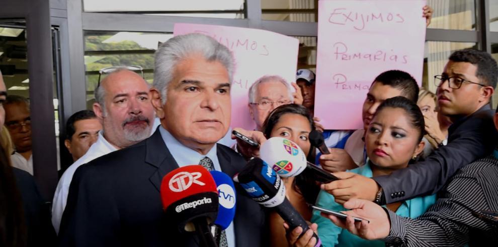 José Raúl Mulino renuncia al fuero penal electoral