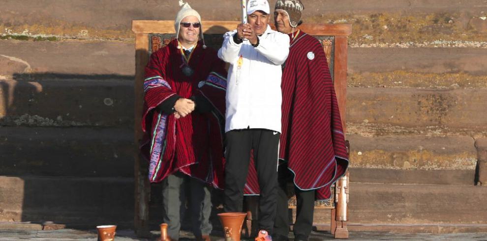 El fuego sagrado que recorre toda Bolivia