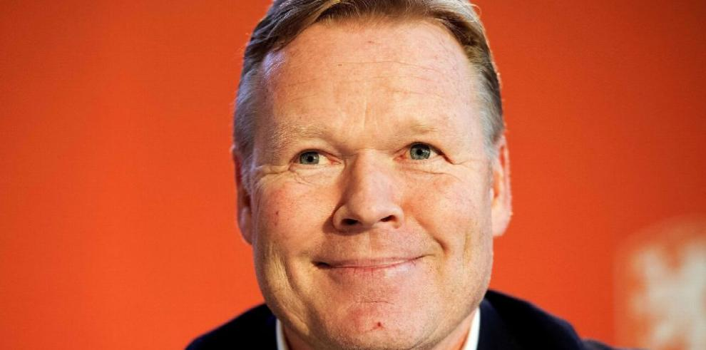 Presentan a Koeman para dirigir a Holanda