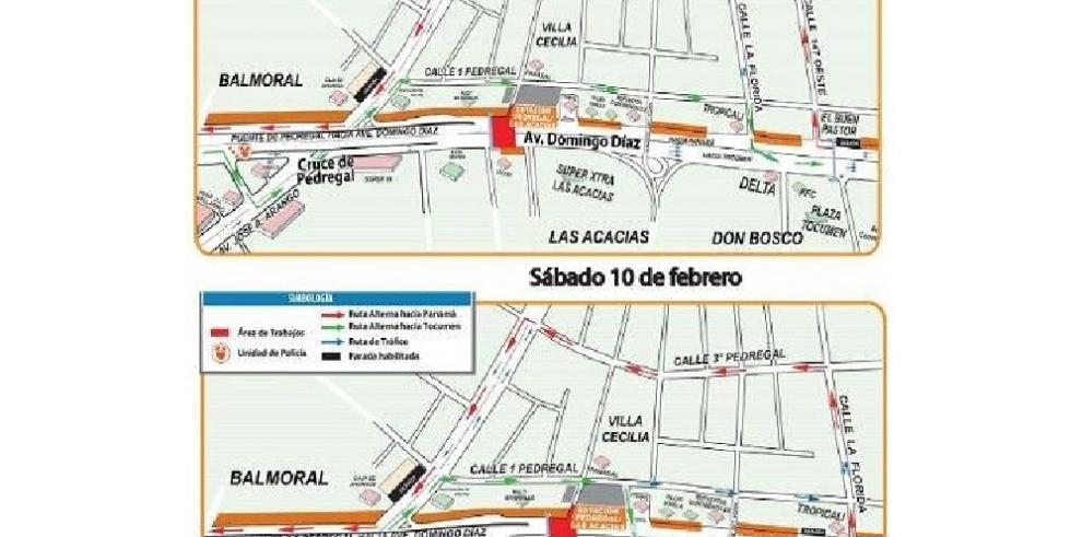 Cerrará la avenida Domingo Díaz por trabajos en la Línea 2 del Metro