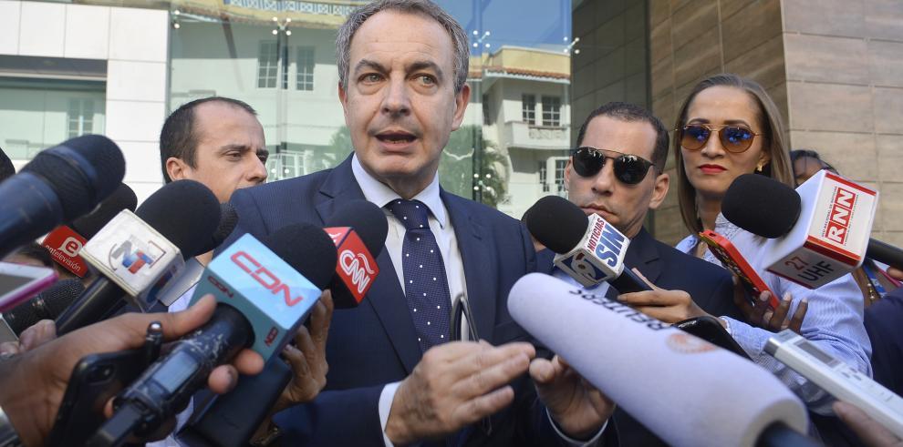Expresidente Zapatero expresa