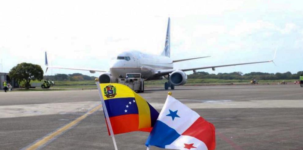 Copa Airlinesreanudó hoy vuelos a Venezuela tras crisis diplomática bilateral