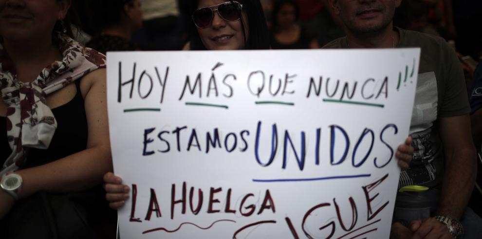 Huelga en Costa Rica cumple un mes pero con débil apoyo