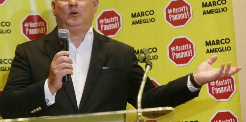 Marco Ameglio repunta entre los independientes y Lombana se consolida