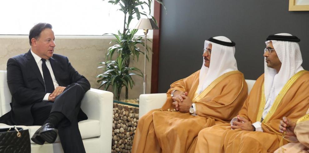 Varela en Dubái para participar en el Global Business Forum Latin America