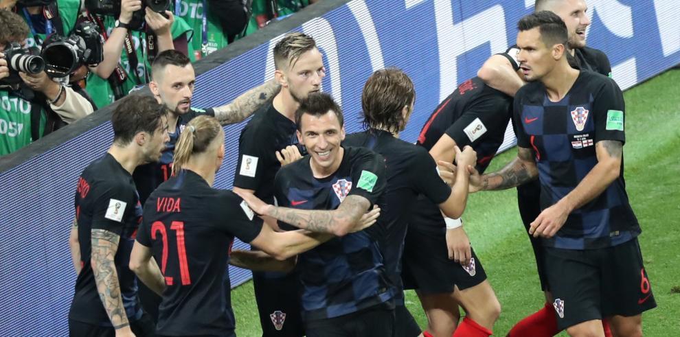 Croacia a su primera final de la Copa del Mundo