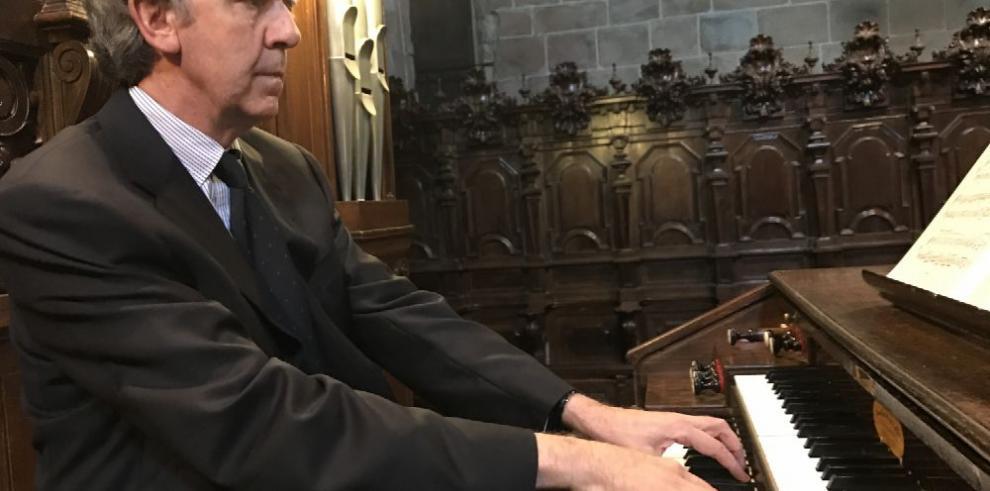 Una noche, dos maestros del órgano