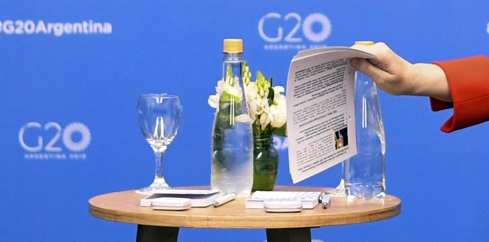 G20, sin EEUU, establece que acuerdo sobre cambio climático es