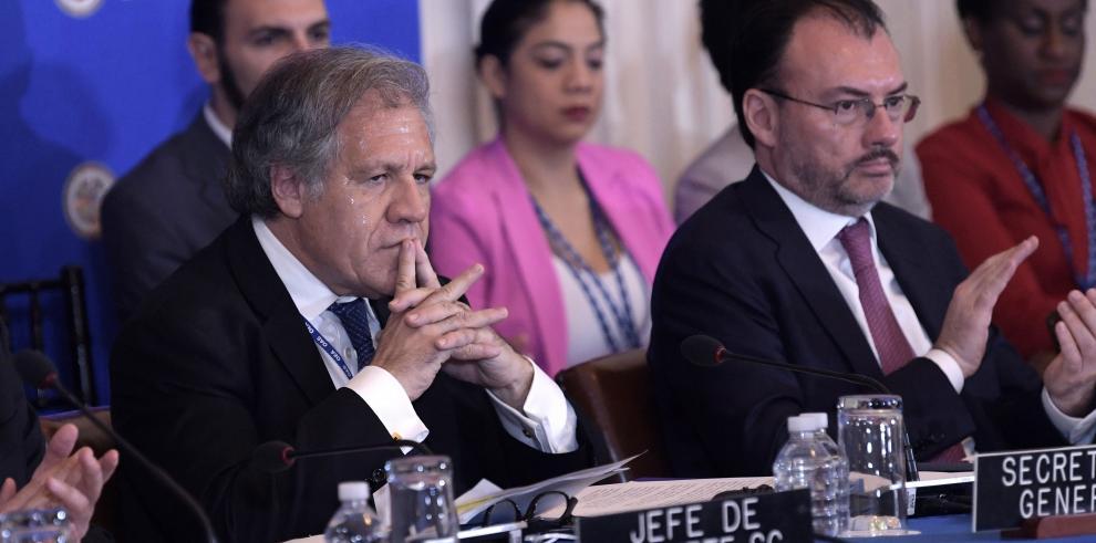 Inicia la Asamblea General de la OEA con la vista en Venezuela y Nicaragua