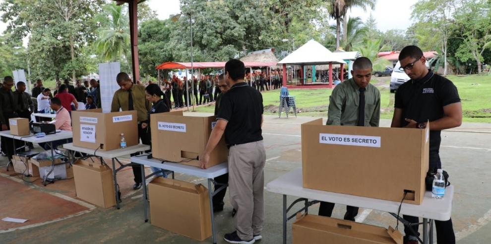 Universitarios de Darién se suman al proceso electoral