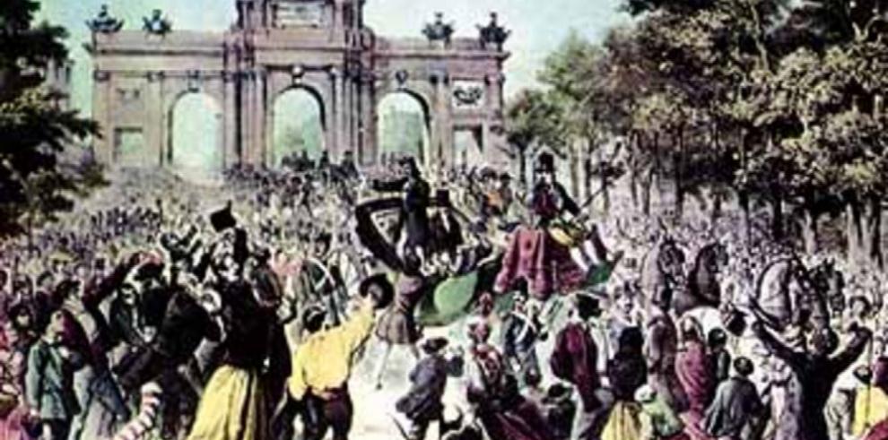 La puerta central de Alcalá, Don Antonio y el Escorial de América