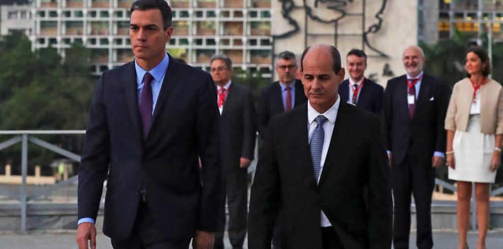 Sánchez llega a Cuba para su visita oficial y hoy se reunirá con Díaz-Canel