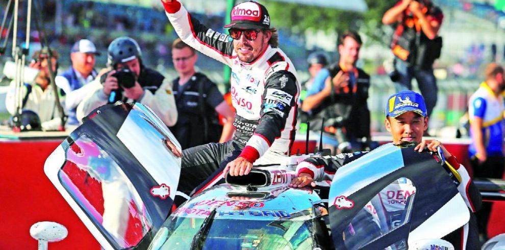 Alonso, aún vigente en las competencias