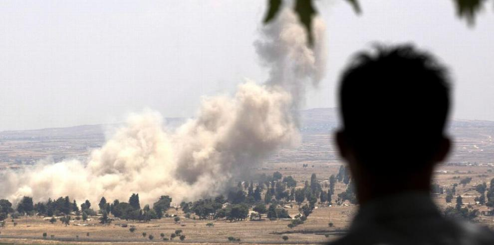 Aumenta tensión tras derribo de avión sirio por misiles israelíes