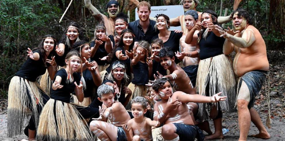 Los duques de Sussex se divierten en Australia