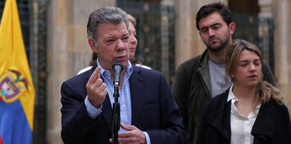 El presidente de Colombia pide a la OEA intervenir en Nicaragua