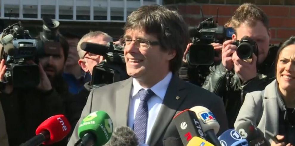 La Fiscalía alemana solicitará la extradición de Puigdemont por rebelión