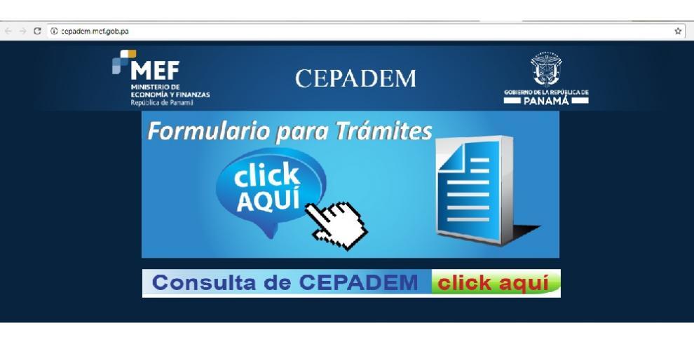 A partir de hoy está disponible el formulario digital del Cepadem