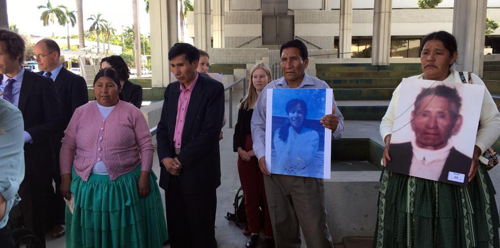Bolivia pide que juicio en EEUU a Sánchez de Lozada finalice con extradición
