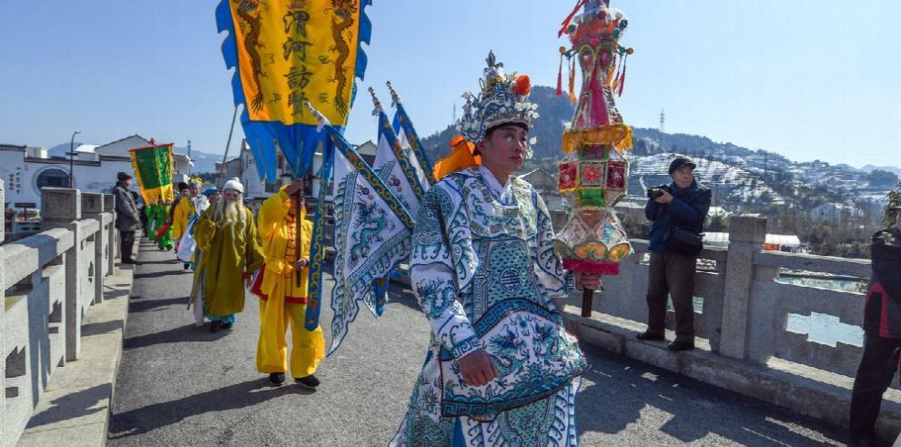 Inicia la Fiesta de la Primavera china