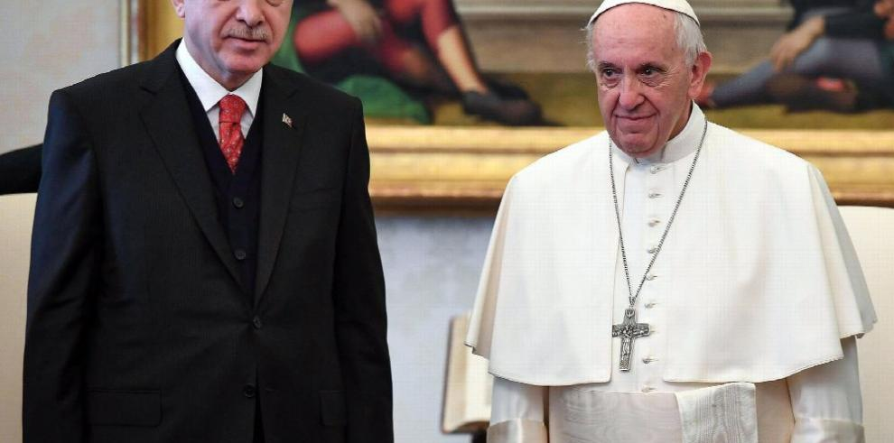 Erdogan y el papa hablan sobre Jerusalén