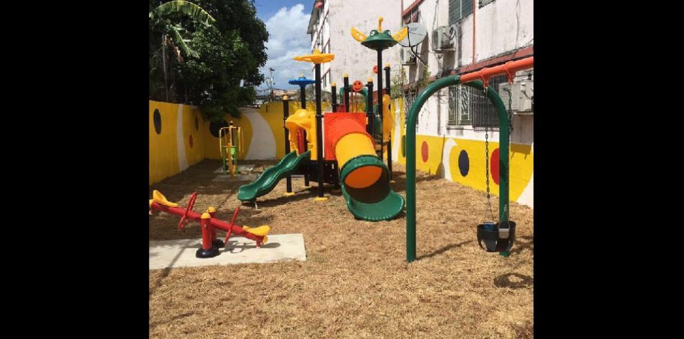 Remodelan espacios sociales en las multis de San Miguelito