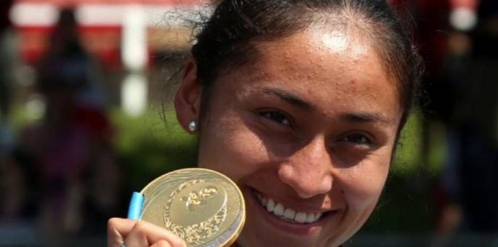 La subcampeona olímpica Guadalupe González reaparece