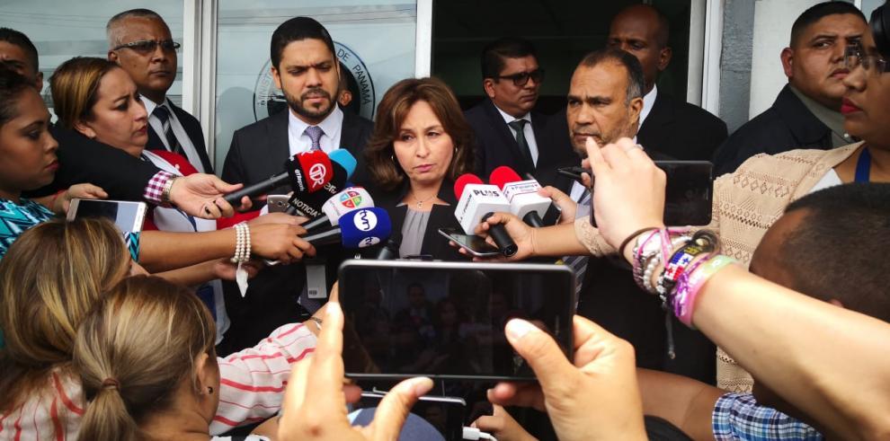 Porcell presenta denuncia sobre conversación con magistrado De León