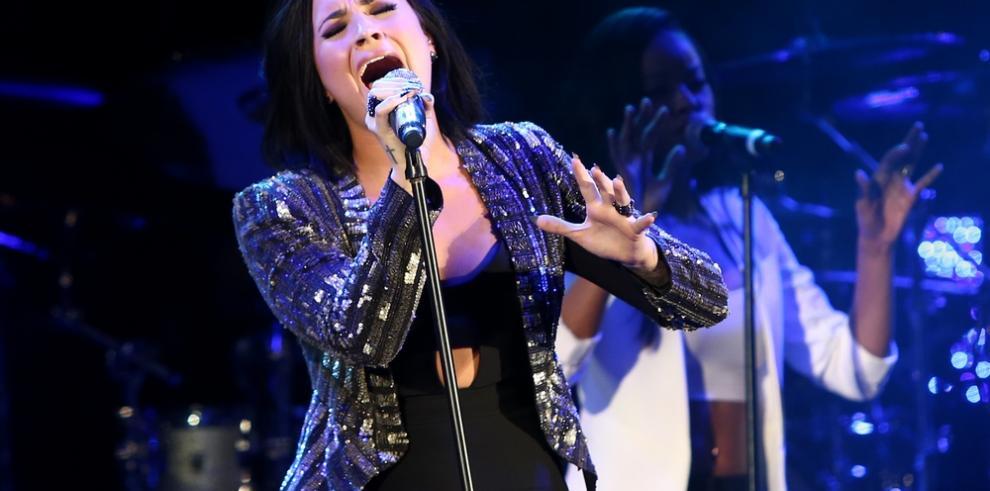 Demi Lovato ha sido vista en público por primera vez desde su sobredosis