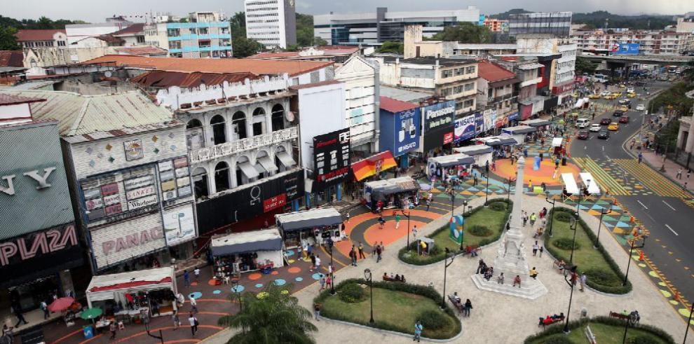 Celebran el experimento urbano 'Panamá Camina: comparte la Central'