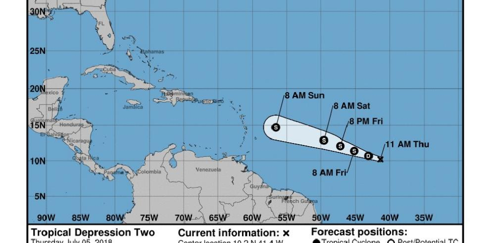 Beryl se convierte en primer huracán del Atlántico rumbo a Antillas Menores