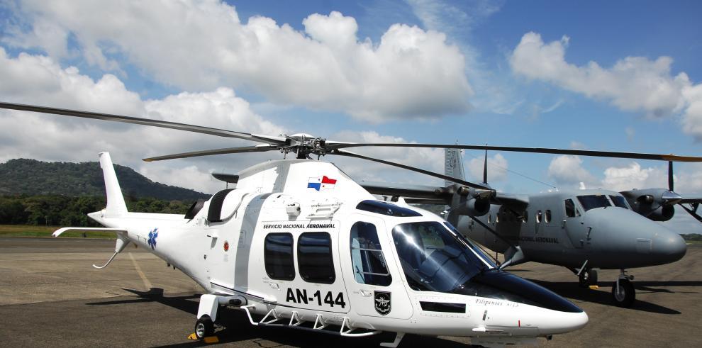 Senan recibe tresnuevos helicópteros por acuerdos con Finmeccanica