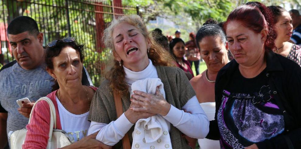 Cuba investiga causas del accidente aéreo