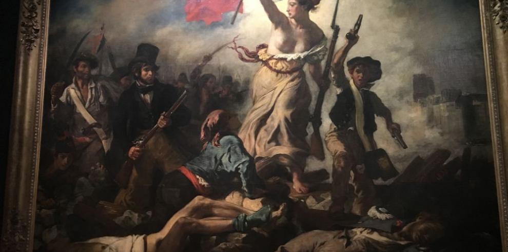 Una exposición de Delacroix en el Llouvre