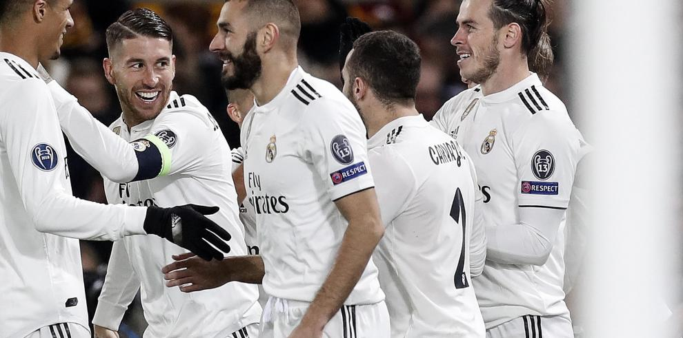 El Real Madrid toma Roma y sella el pase a octavos como primero