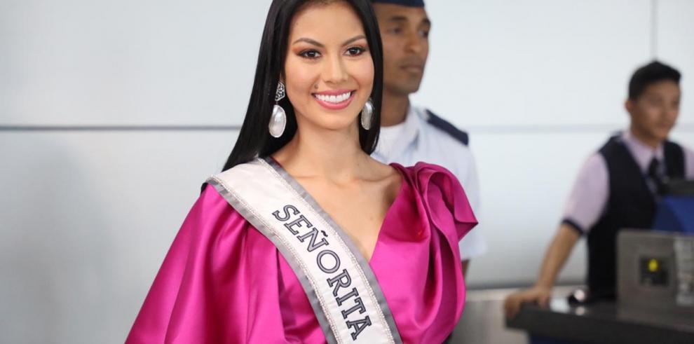 Rosa Iveth Montezuma viaja a Tailandia decidida a traer la corona a Panamá