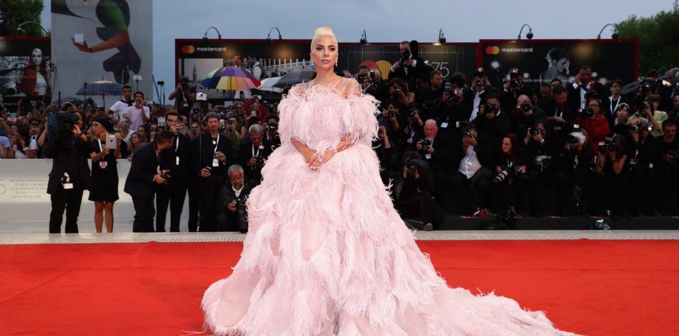 Un rayo provocó la interrupción del estreno del filme de Lady Gaga en Venecia