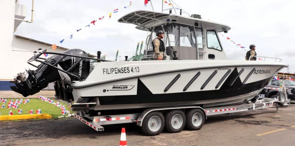 Senan recibe donación de dos botes de EE.UU.