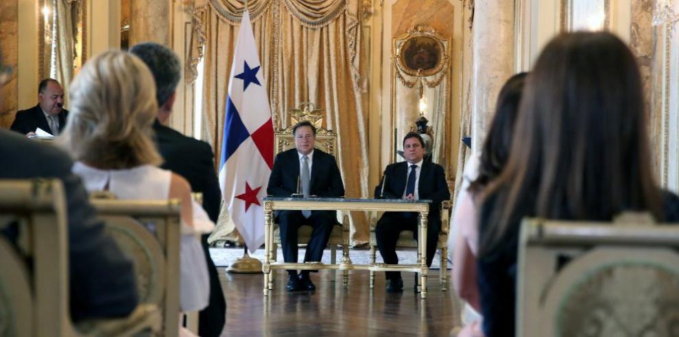 Varela sanciona ley que crea Consejo Multisectorial