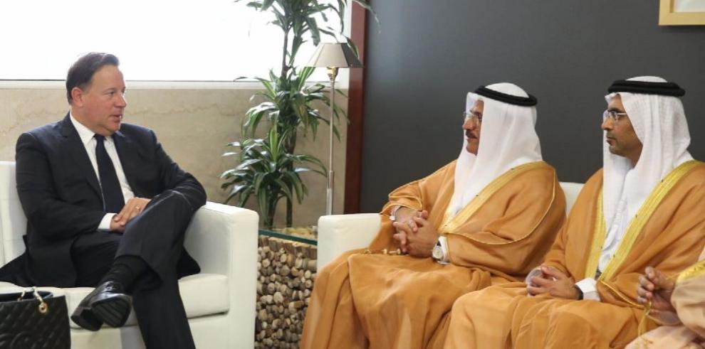 Varela en busca de inversiones en Emiratos Árabes