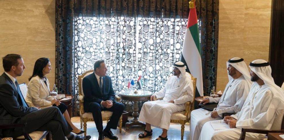 Panamá promoverá 'buenas prácticas' de inversión con los Emiratos Árabes Unidos