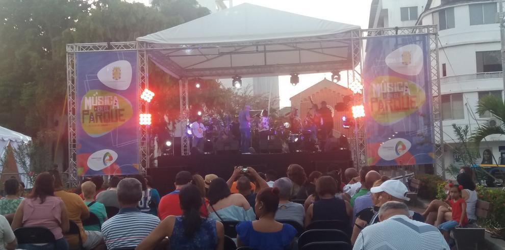 Domingo musical en el Parque Porras