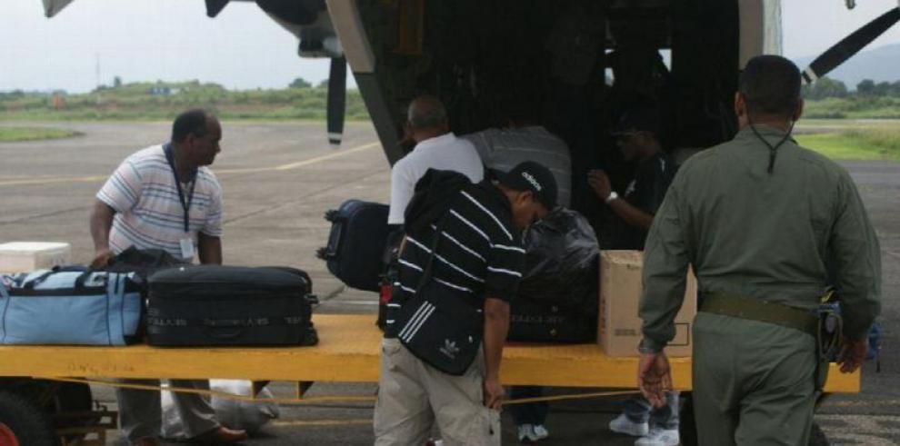 Se accidenta aeronave del Senan con 13 docentes abordo en Guna Yala