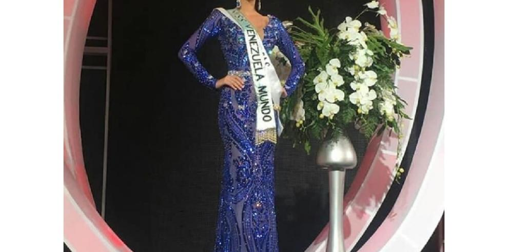Veruska Ljubisavljevic gana demanda al Miss Venezuela e irá al Miss Mundo 2018