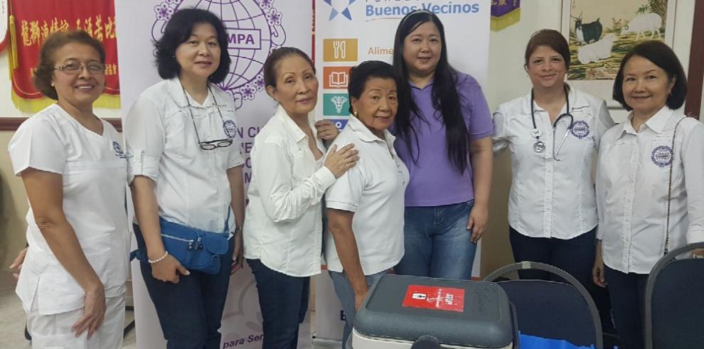 Jornada de vacunación en beneficio de la comunidad Chino-Panameña