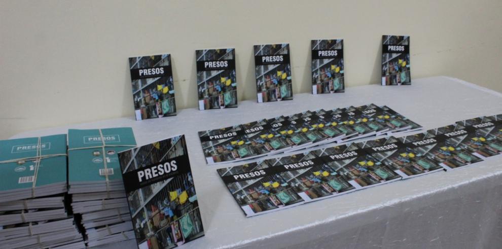 La DGSP y la UP presentan libro: 'Presos, voces de hombres en el encierro'