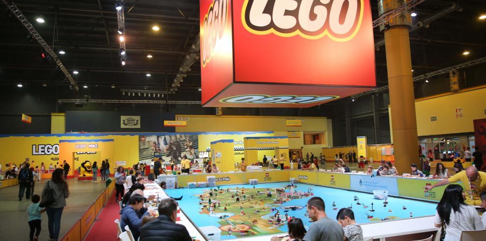Un evento de Lego llega por primera vez a Argentina con 4 millones de piezas