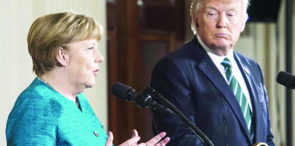 Canciller alemán pide redefinir relación con EE.UU.